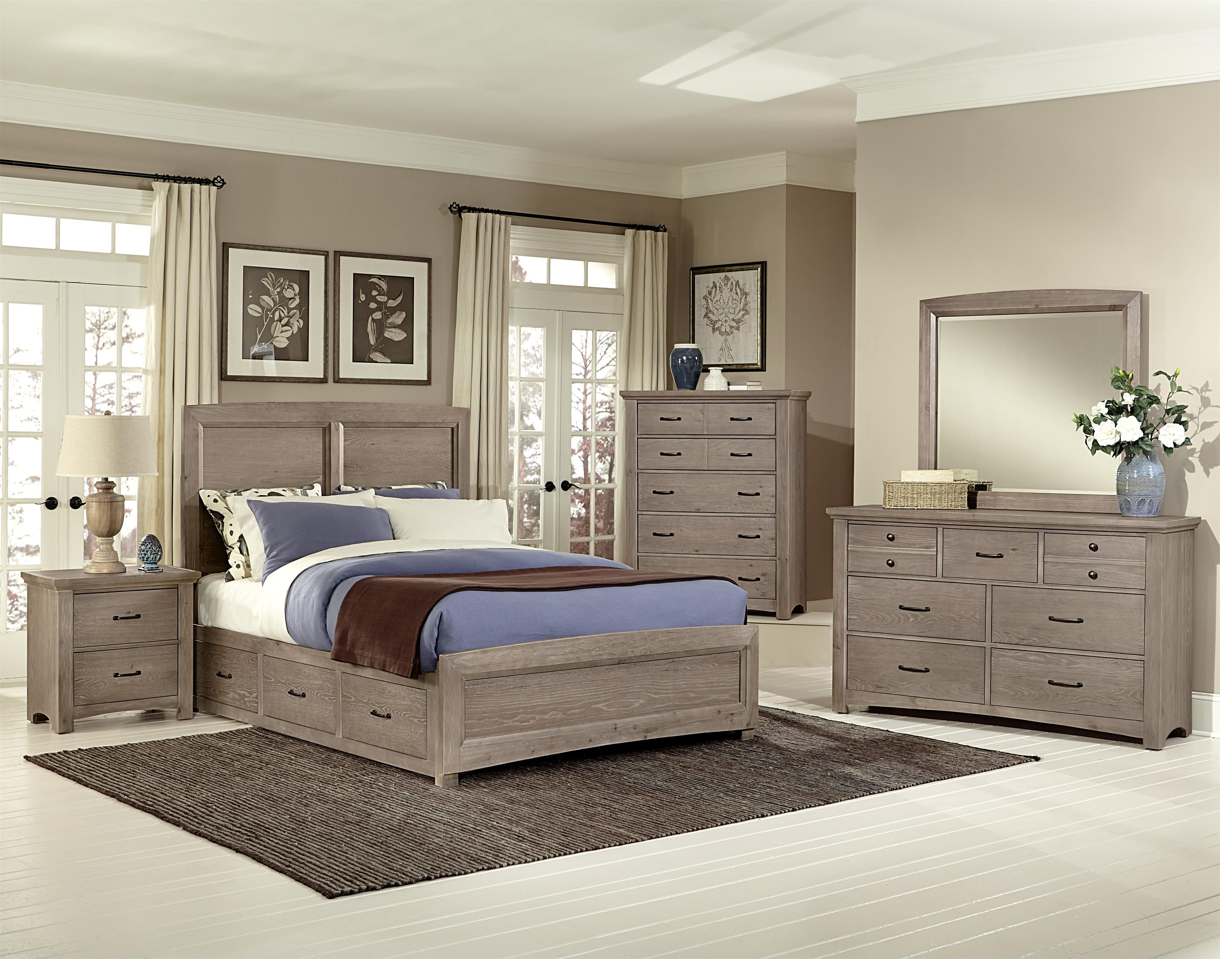 Transitions Queen Bedroom Group by Vaughan Bassett House