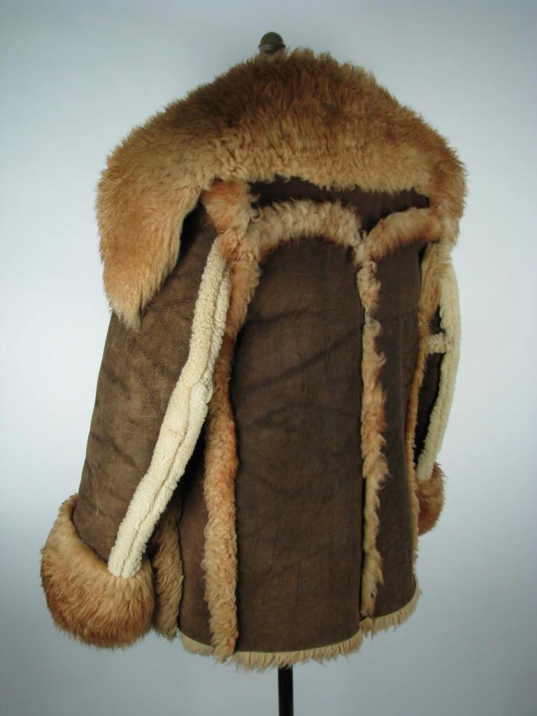 Men's Schott Shearling Sheepskin Heavy Coat Jacket M Medium 38 38R ...