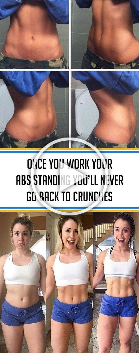 ★★★★★ 67 reviews: Once You Work Your Abs Standing, You'll Never Go Back to Crunches | When it comes...
