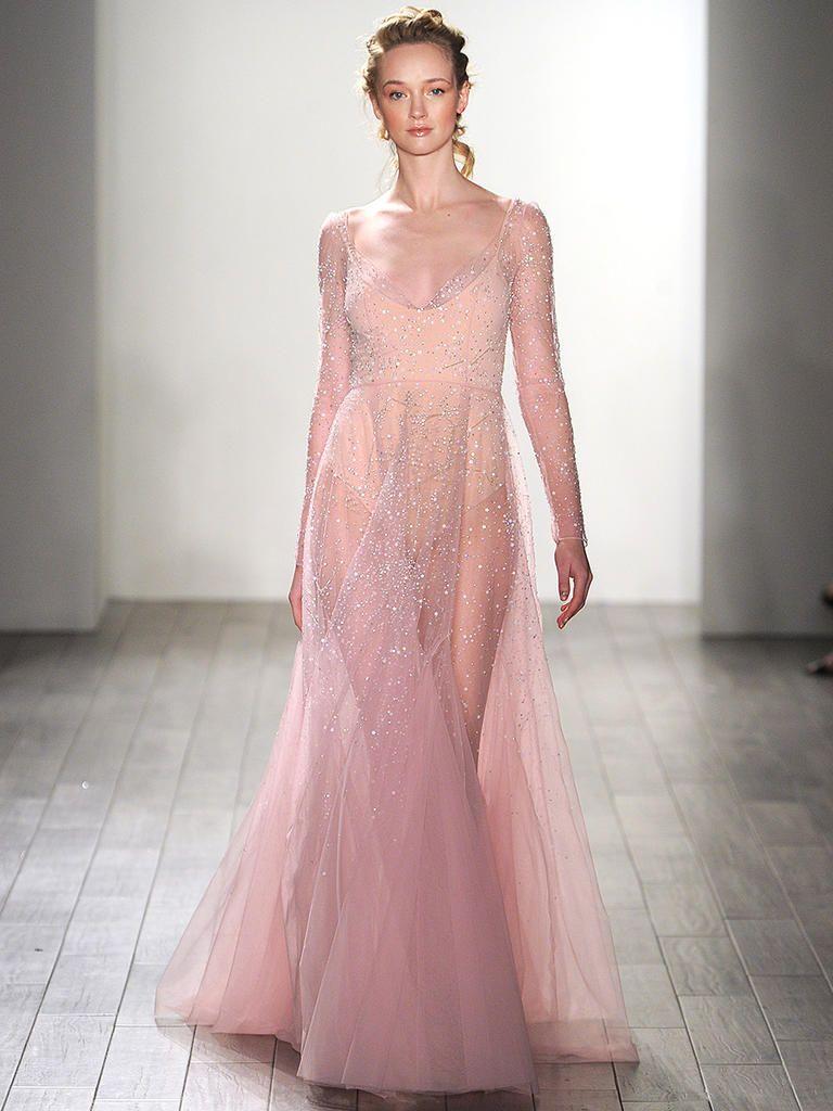 28 Gorgeous Blush and Light Pink Wedding Dresses | Light pink ...
