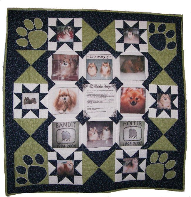 Memory Quilts Crafty Entering Pets On Quilts