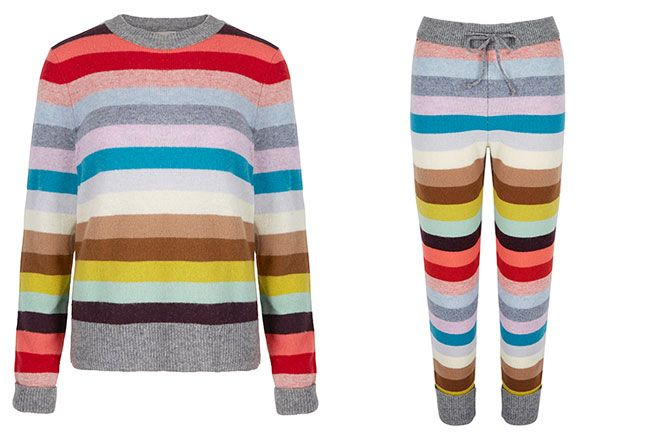 Holiday stripe sweater dress | Gap | Lucy Christmas 2014