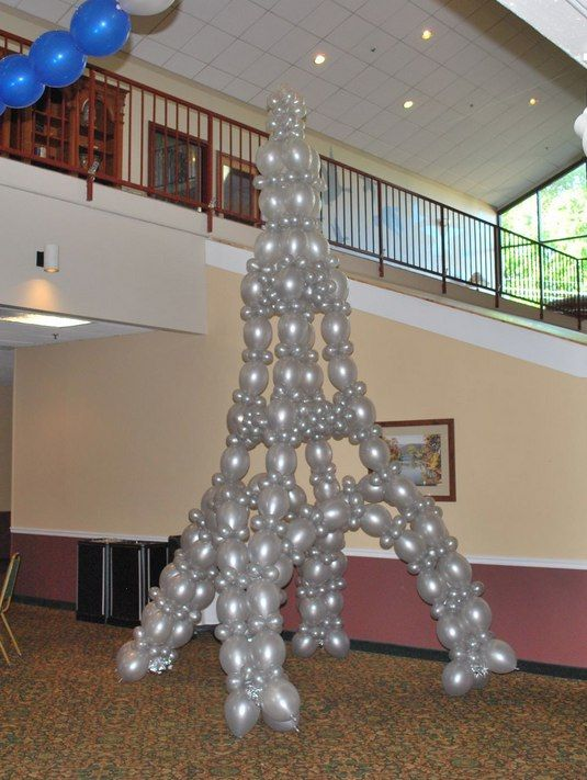Balloon Eiffel Tower, If someone made me this i\u0027d love them forever