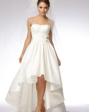 Hochzeitskleid Vorne Kurz Hinten Lang ...