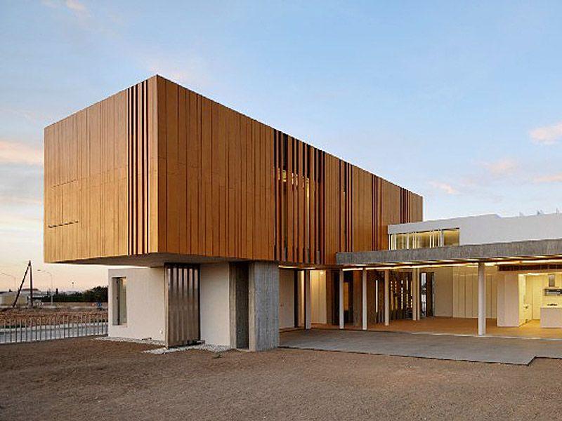 panel de madera para fachada parklex facade by kalikos
