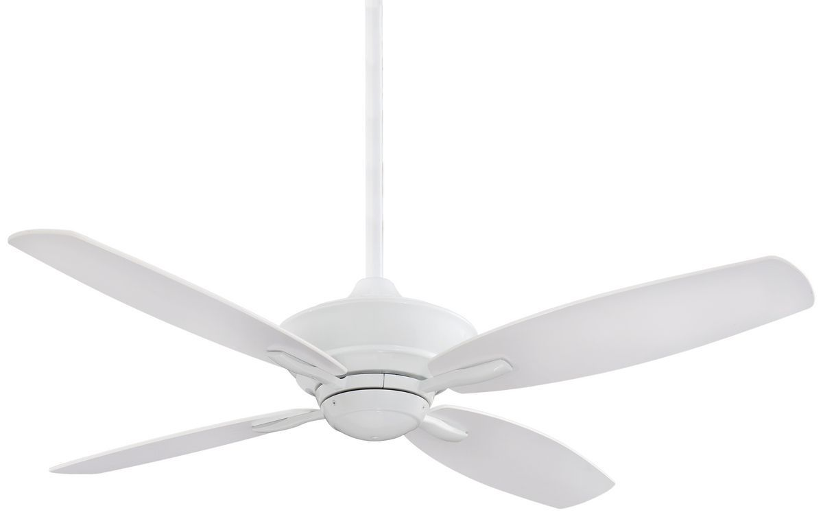 Minka Aire New Era 52 Ceiling Fan In White Ceiling Fan White