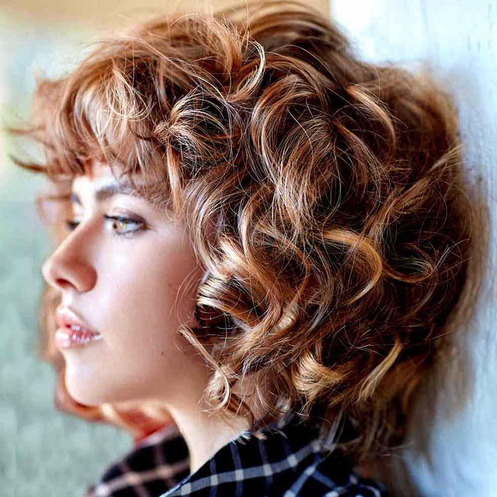 Tagli capelli Medi inverno 2020 2021: tendenze in 50 foto ...