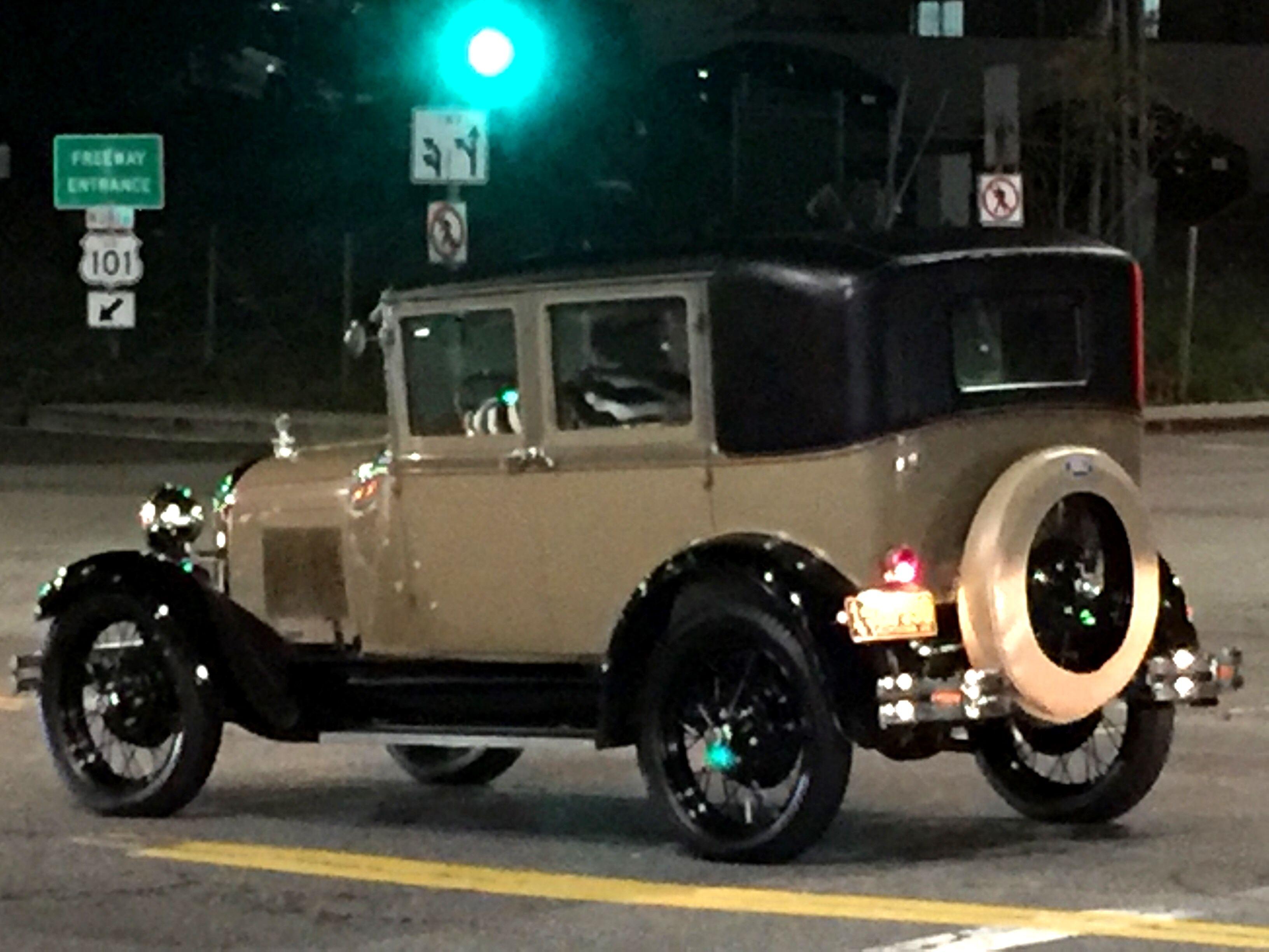 Model T Ford 1927 Argyle at Franklin Hollywood