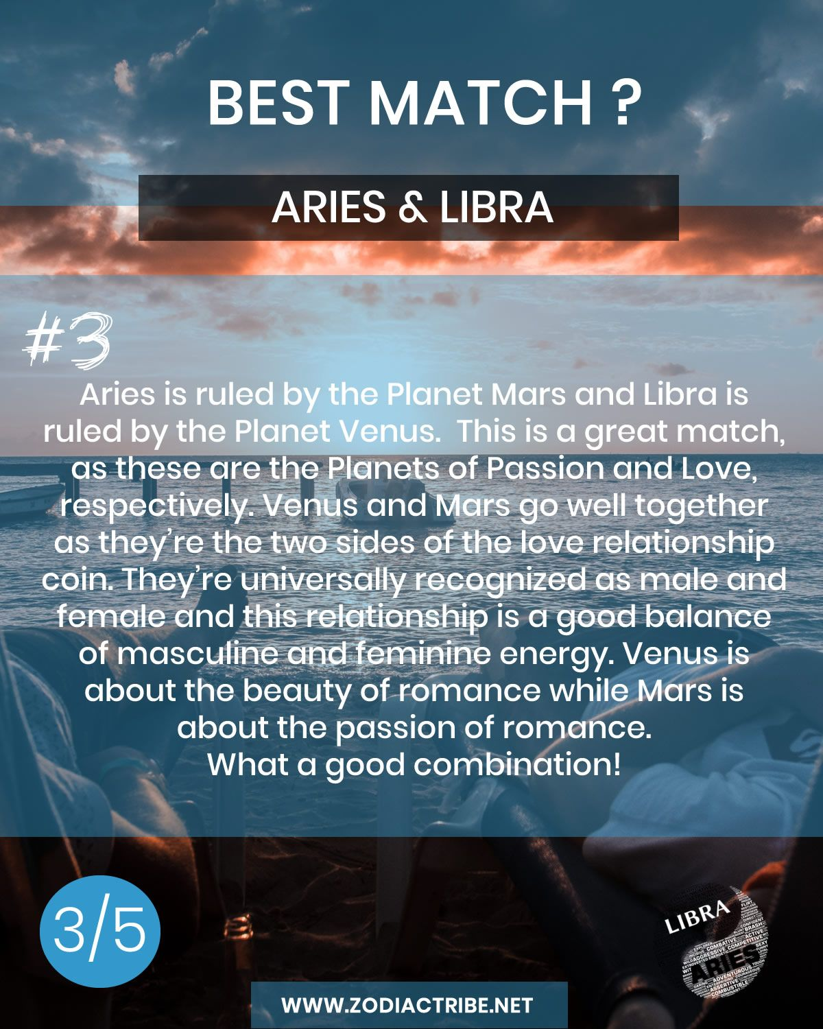 Aries March 21 April 19 Libra September 23 October 22 What