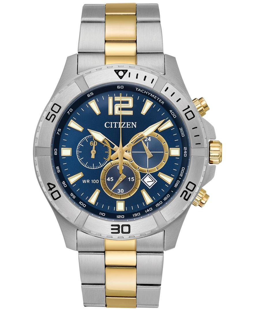 Citizen Men's Chronograph TwoTone Stainless Steel