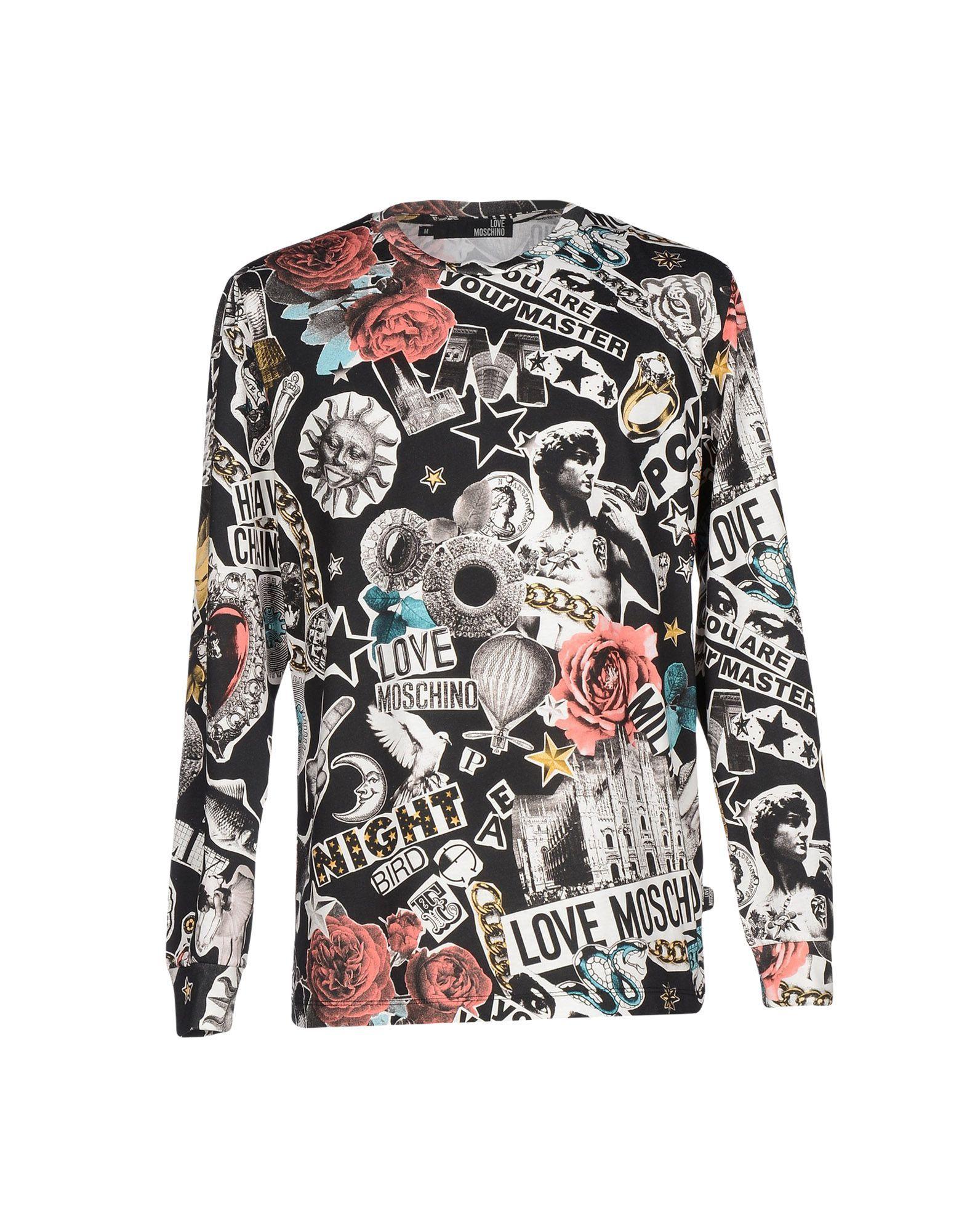 724d2e0336ced Camiseta Love Moschino Hombre - Camisetas Love Moschino en YOOX - 37860676