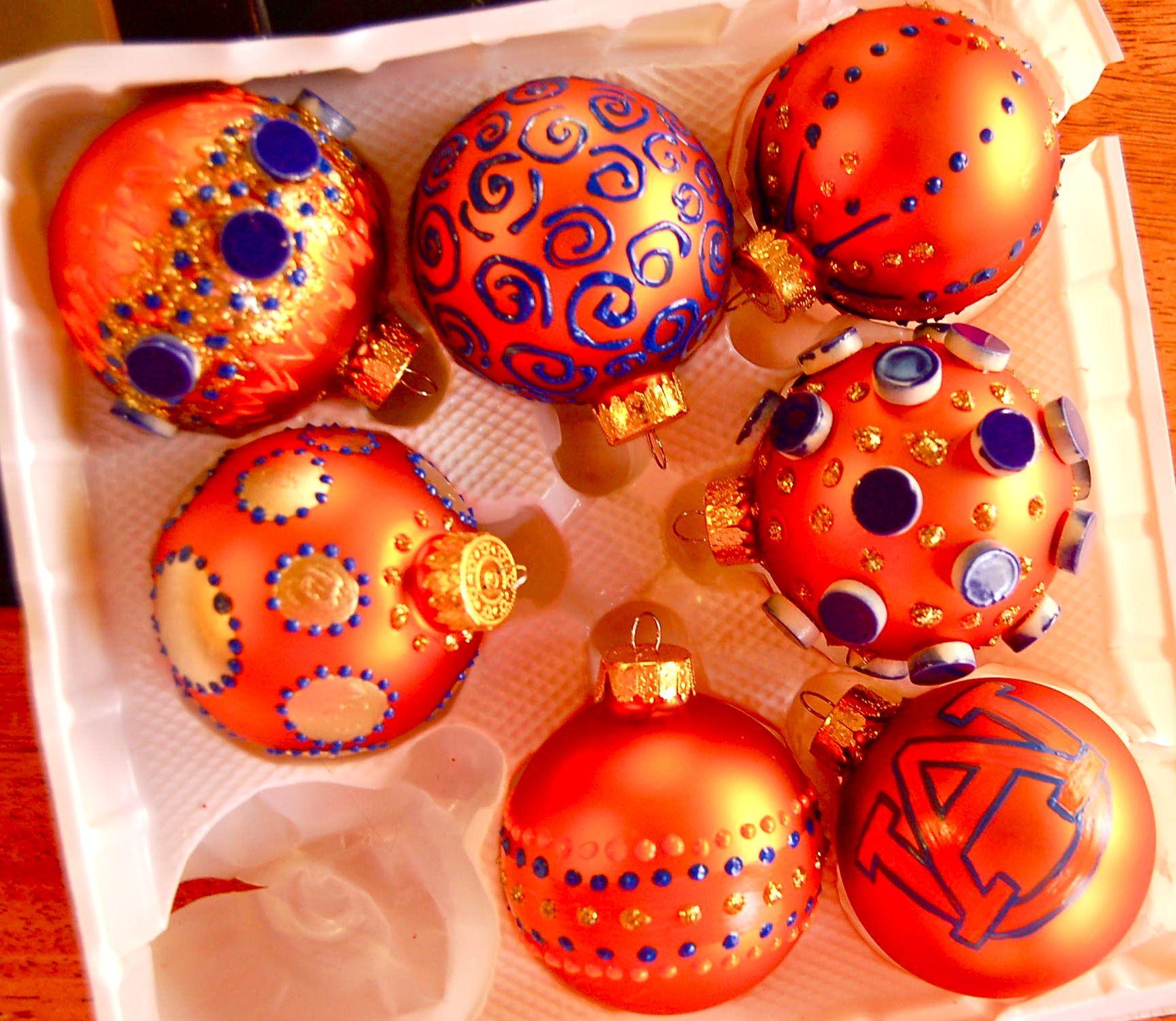 Auburn christmas ornaments - Auburn University Christmas Ornaments