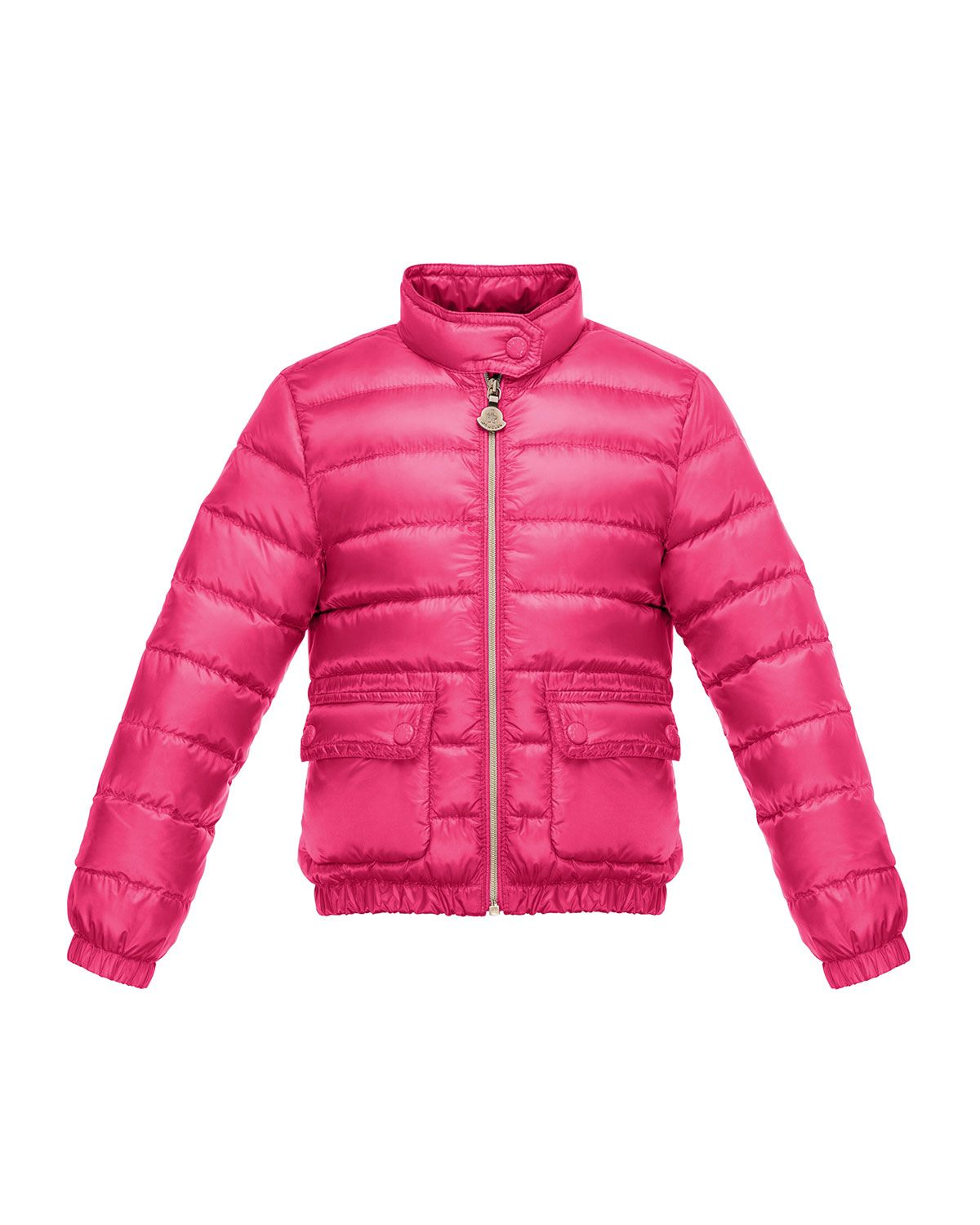848511bf2 Kid's Designer Clothing at Neiman Marcus. Lans Flap-Pocket Lightweight Down  Puffer Jacket, Fuchsia (Pink), Size 8-14, Size: 10 - Moncler