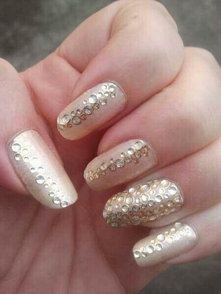 #mani #nails appliques