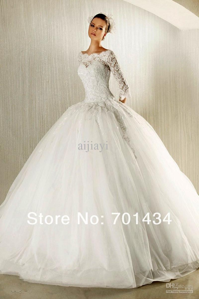 Allison williams wedding dress    free shipping Wholesale ALine Wedding Dresses  Buy Off