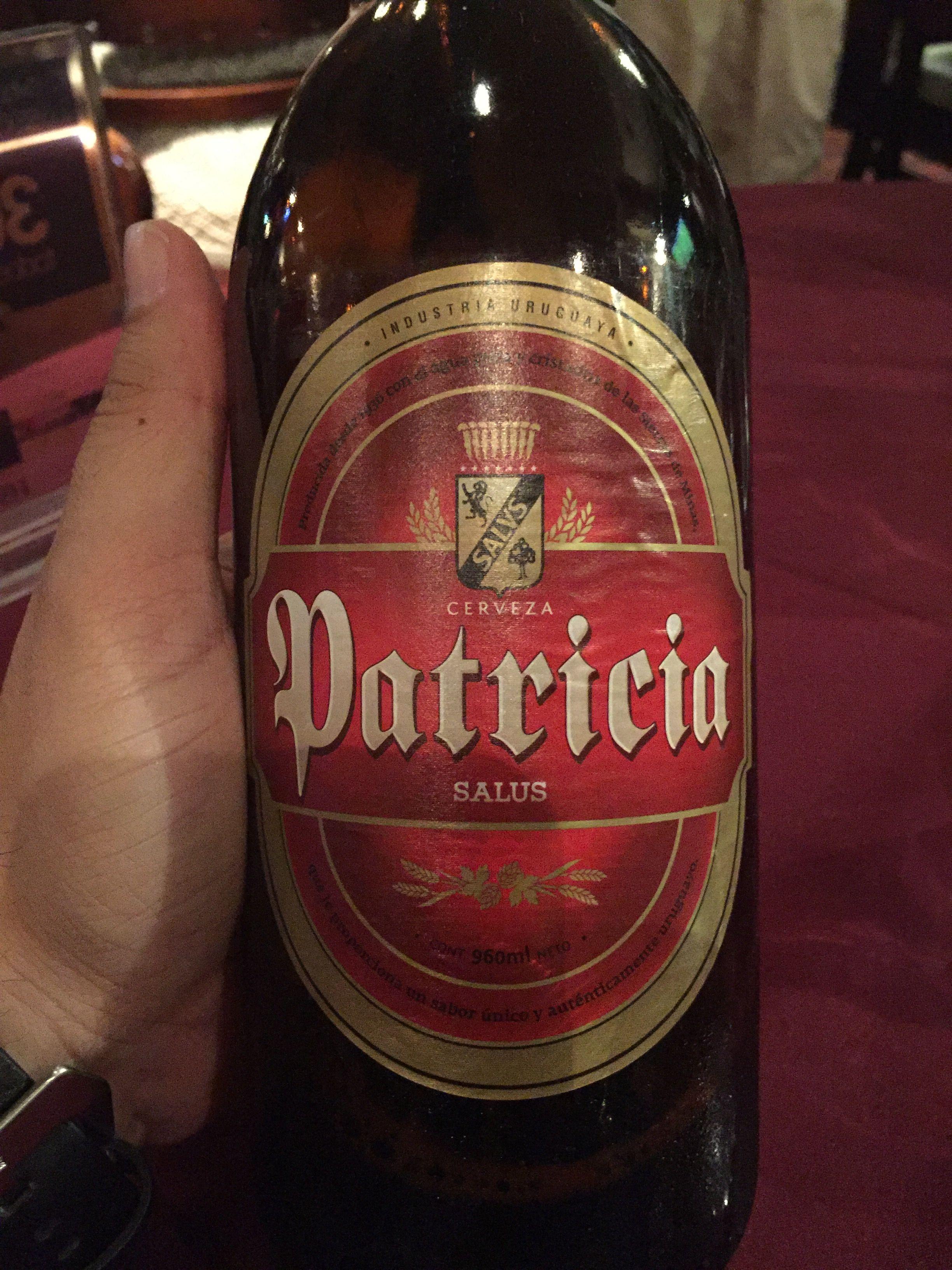 Patricia Uruguay Beer Canadian Beer Beer Bottle