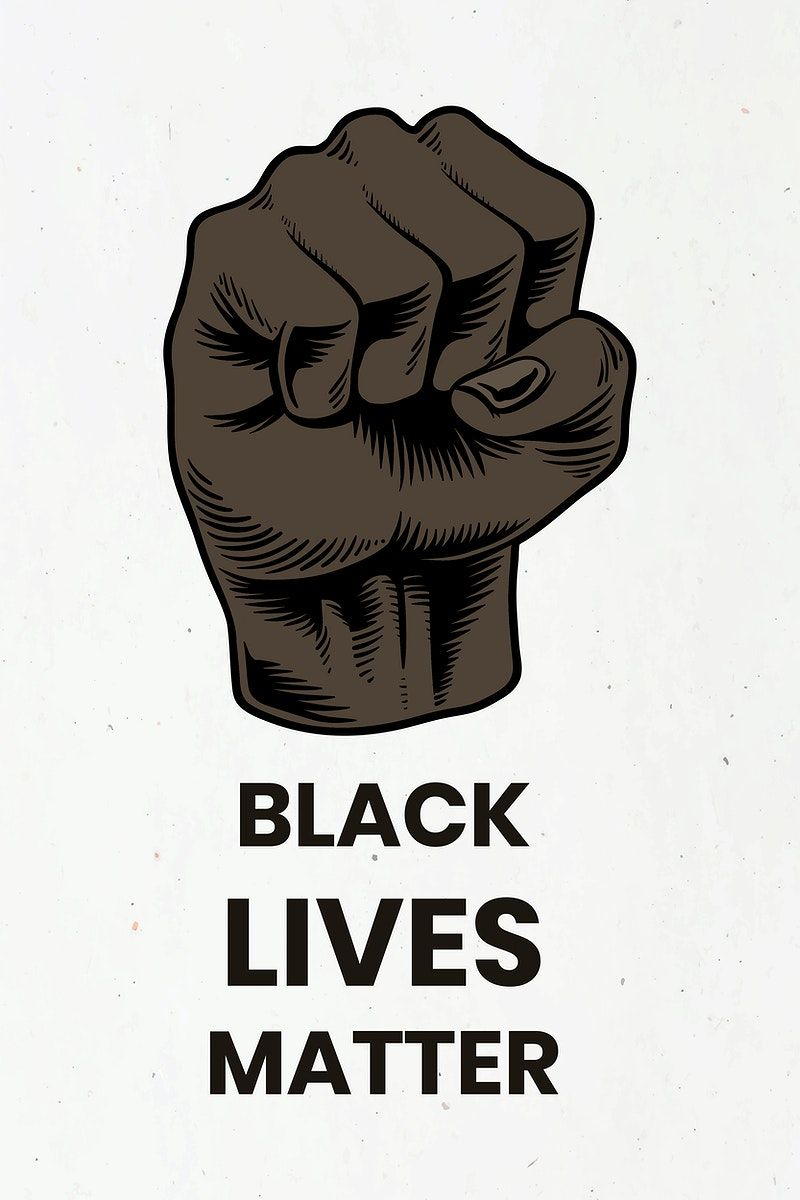 Raised Fist For The Black Lives Matter Movement Social Template Vector Free Image By Rawpixel Com Black Lives Matter Black Lives Lives Matter