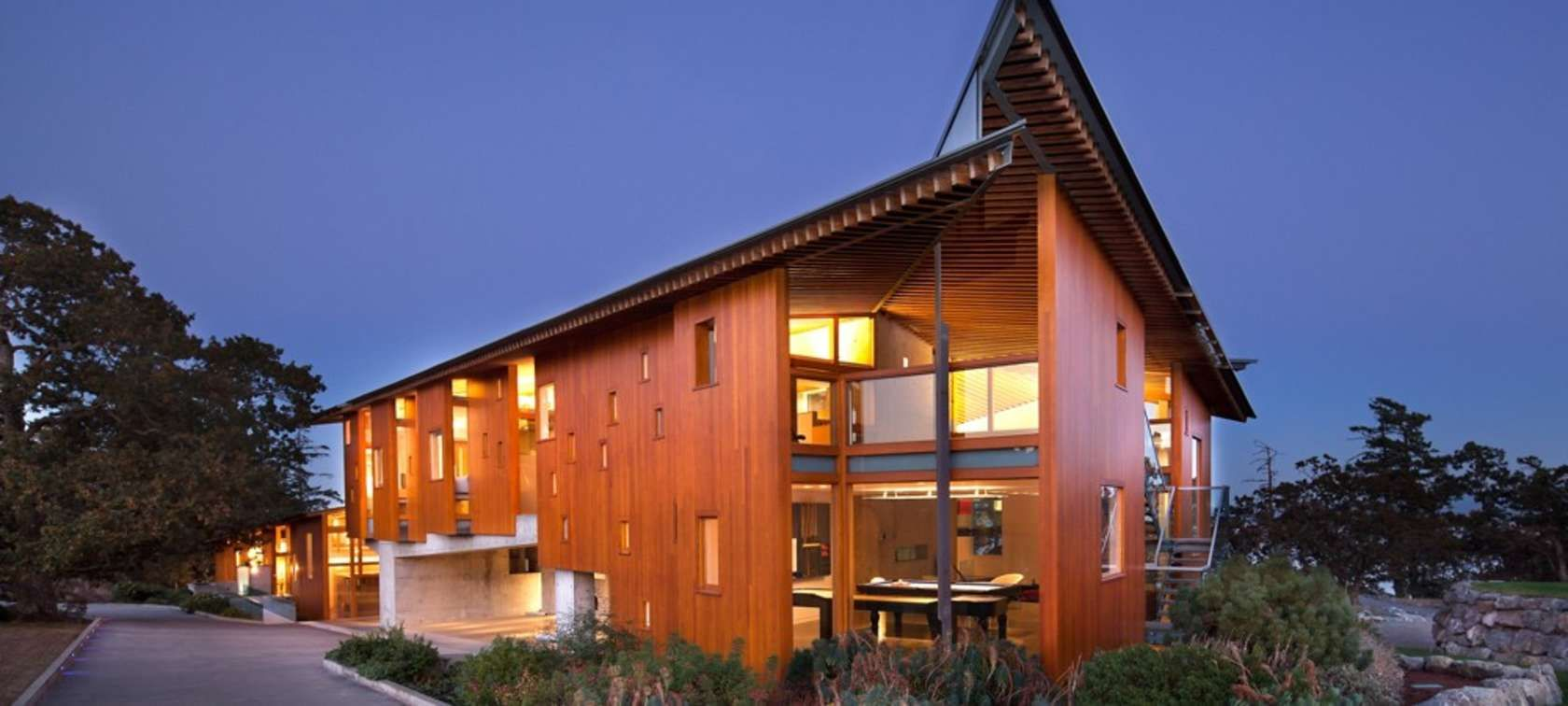 Swanwick Road by Marko Simcic, Victoria, Canada   Wood on House ...