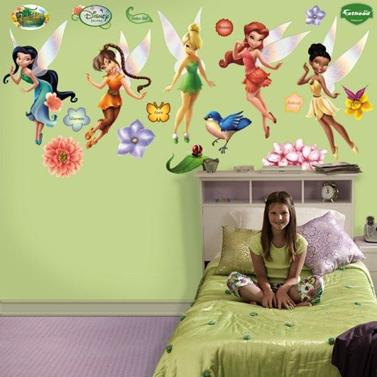 Disney+fairies+pictures | Disney Fairies Wall Decals  Tinker Bell And  Friends «