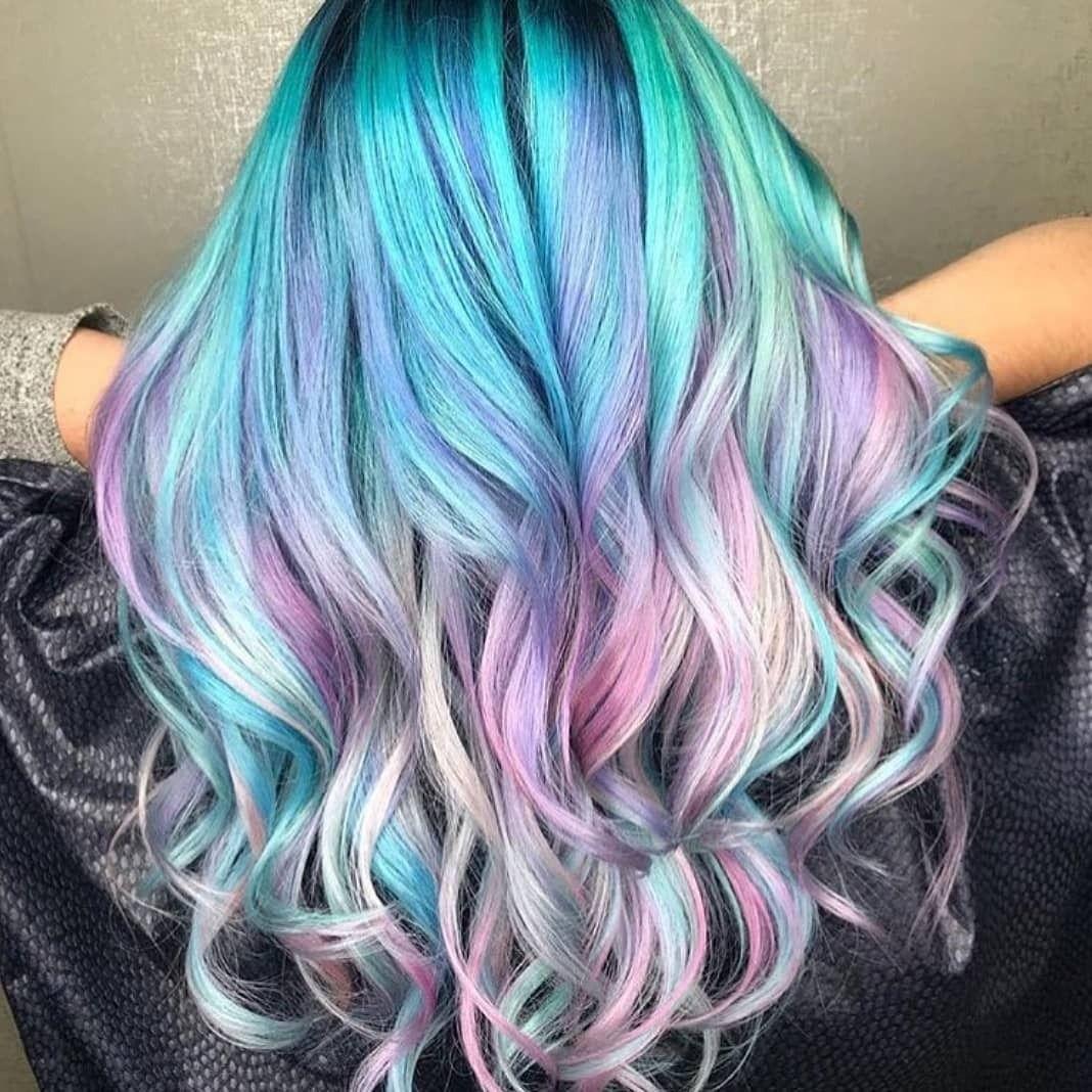 Unicorn pastel hair Source: unicorngalaxycom  Hair styles