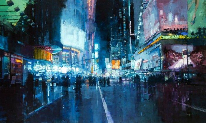 Jeremy Mann, Times Square