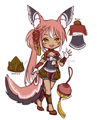 MYO lacie trade with rins by Kaiet.deviantart.com on @DeviantArt