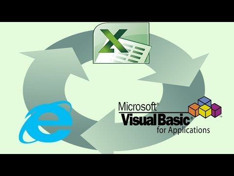 Automate the Web - create web automation bots with Excel & VBA | it