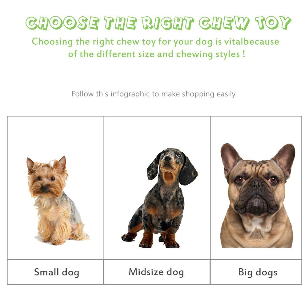 Durable Dog Chew Toysa Eetoys Bone Chew Toy For Medium Large