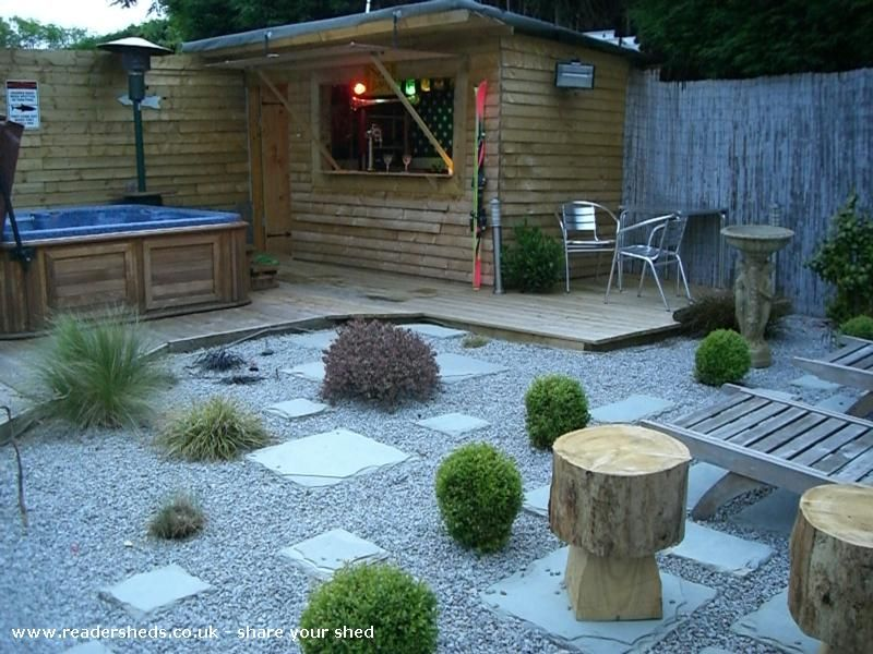 Lili S Bar Pub Shed From Back Garden Readersheds Co Uk