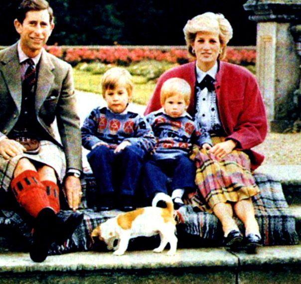 Diana Princess of Wales Family | Princess Diana diana and family