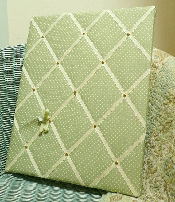 Fabric Memo Board Omg Just Like The One IM Planing To Make Even