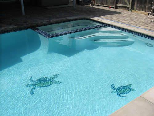 Turtle Pool Mosaics For The Home Pinterest Mosaics