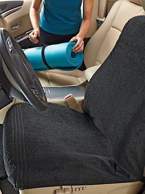 Car Seat Towel Protect Seats From Post Gym Or Beach Trips With Special Elastic Straps That Hold It In Place Simply The Machine