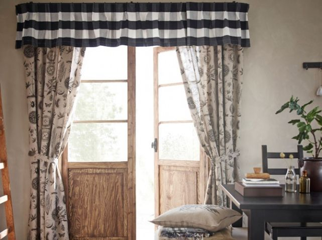 cantonni re rideaux fenetre ikea rideaux voilages curtains pinterest. Black Bedroom Furniture Sets. Home Design Ideas