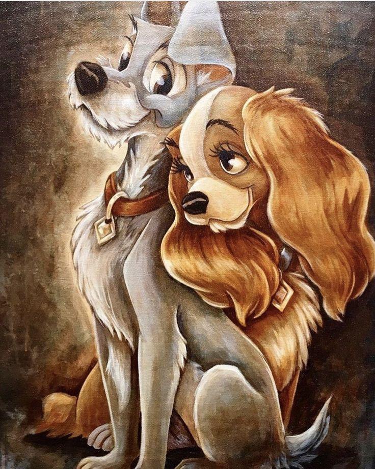 Susi & Strolch # Disney #Susi #Strolch - #amp #Disney #Disneyzeichnung #Strolch #Susi