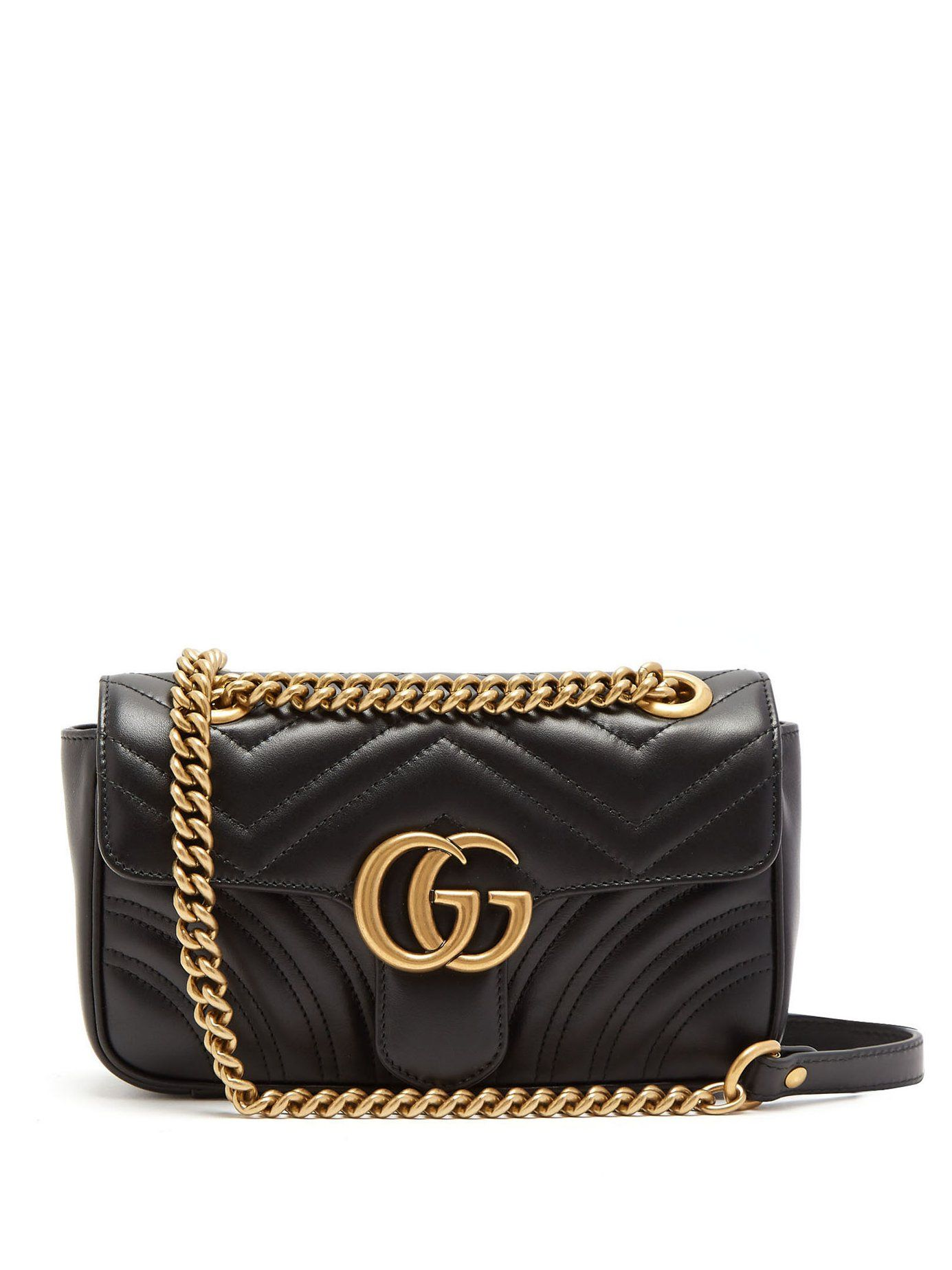 c753c0473b2 GG Marmont mini quilted-leather cross-body bag
