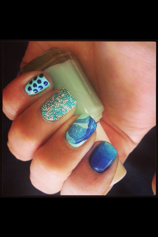 Feeling blue :)