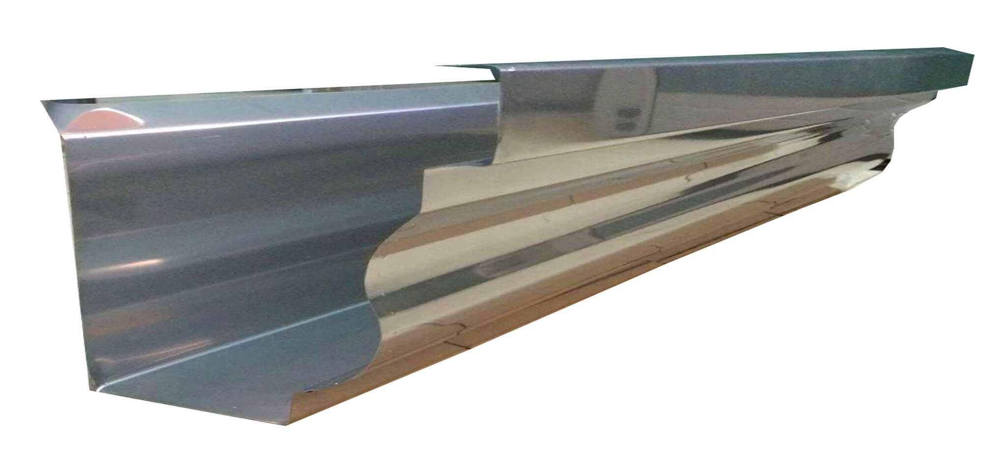 Stainless Roof Gutters Alpha Steel Roofing Supplier In The Philippines In 2020 Steel Roofing Gutters Roofing