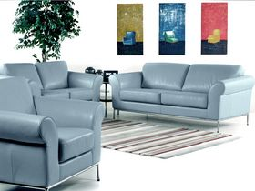 Nice Blue Leather Sofa Set , Unique Blue Leather Sofa Set 76 In Sofas And  Couches