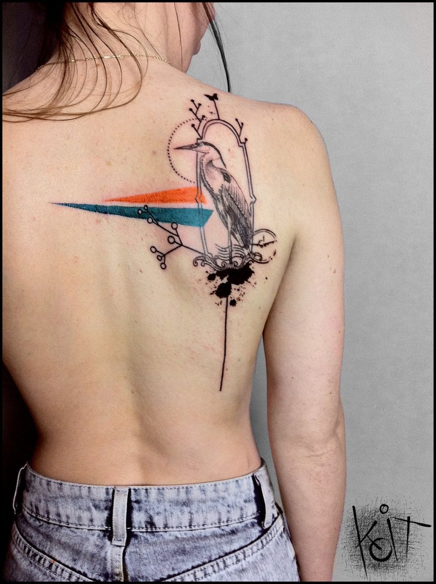 Shachar Ozery Koit tattoo