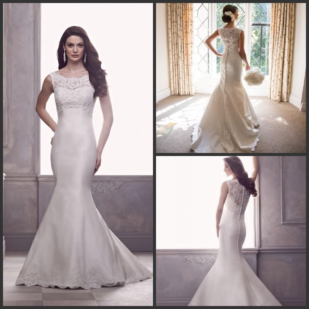 100+ Silk Wedding Dresses with Sleeves - Wedding Dresses for the ...