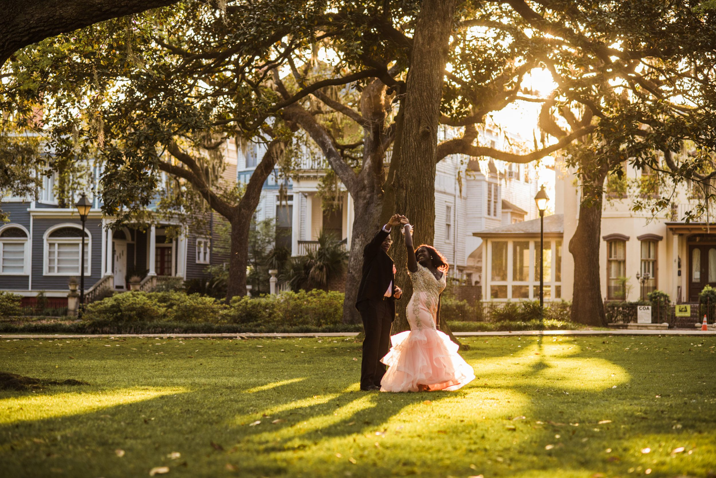 Mini Session at Forsyth Park #promphotographyposes