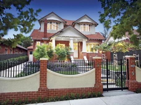 Sold Price For 29 Currajong Avenue Camberwell Vic 3124 House Gate Design House Outside Design House Paint Exterior