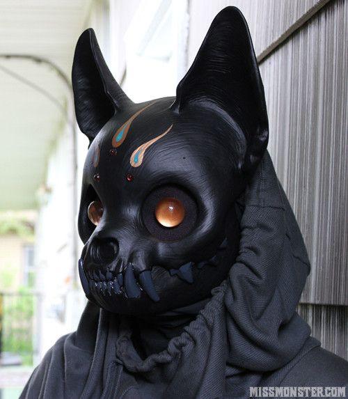 Metal Cat Mask.