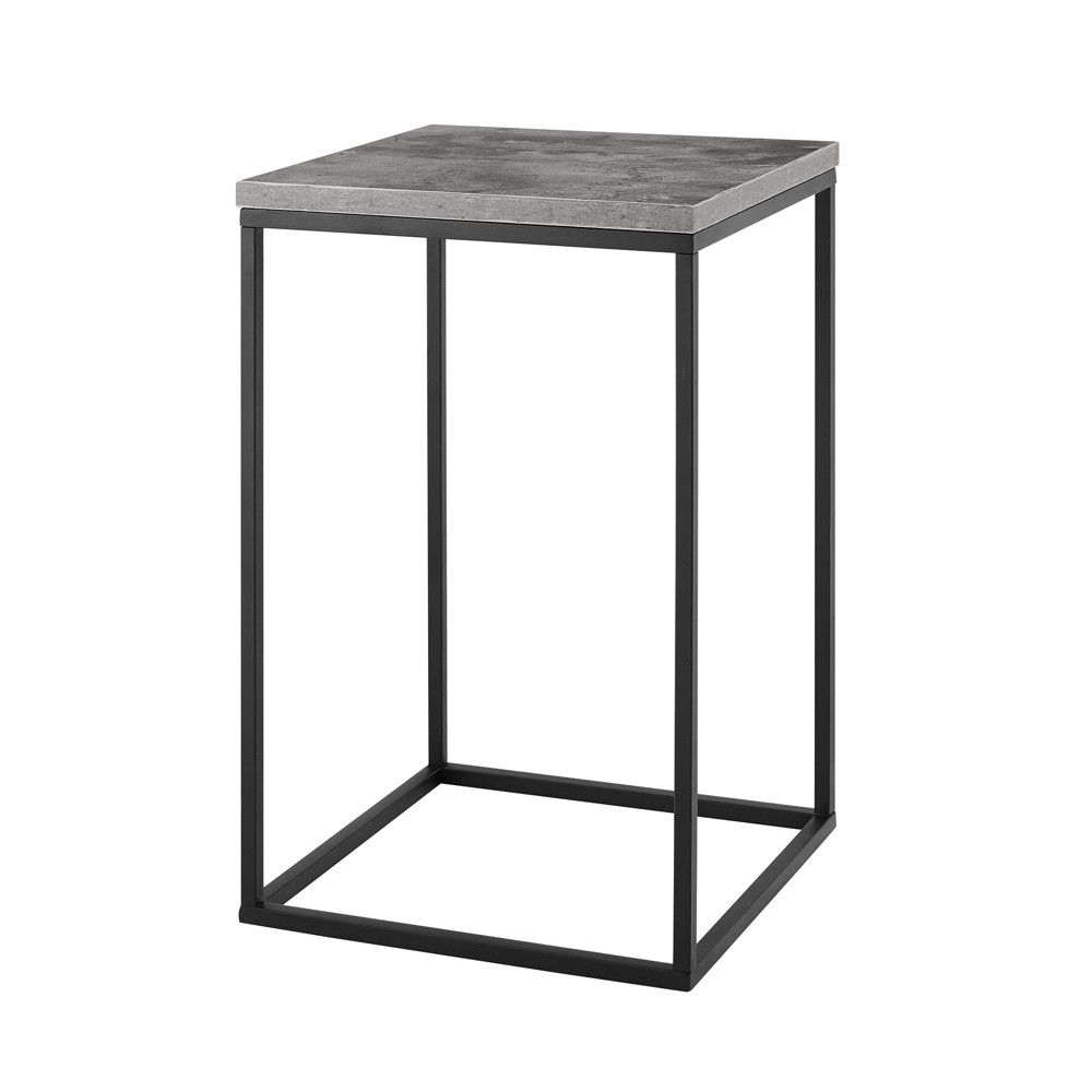 Sofa Open Box 16 Open Box Side Table Dark Concrete Saracina Home Products