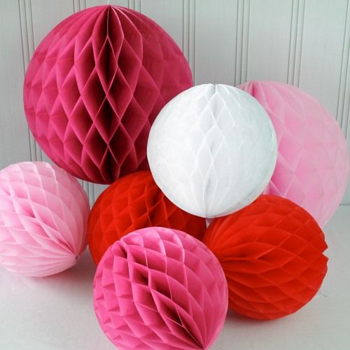 Honeycomb Balls Decoration Honeycomb Ball Decoration  Honeycombs And Ball Decorations