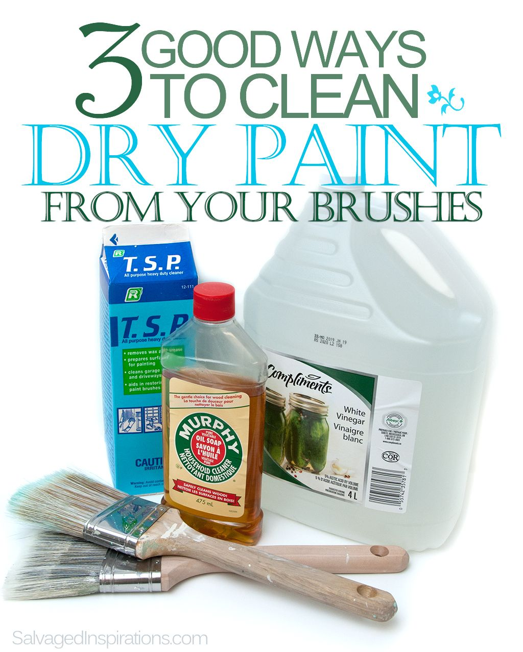 Marvelous How To Clean Dried Paint Off Brush