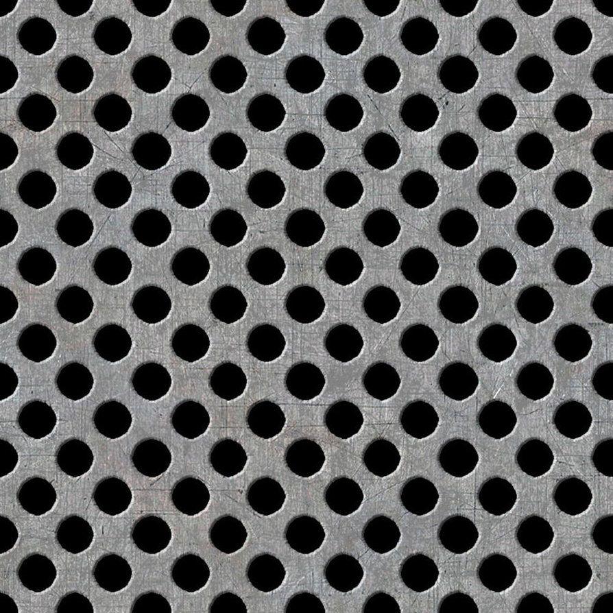 Seamless Metal Holes Plate By Hhh316 Metal Texture Metallic Wallpaper Metal Background