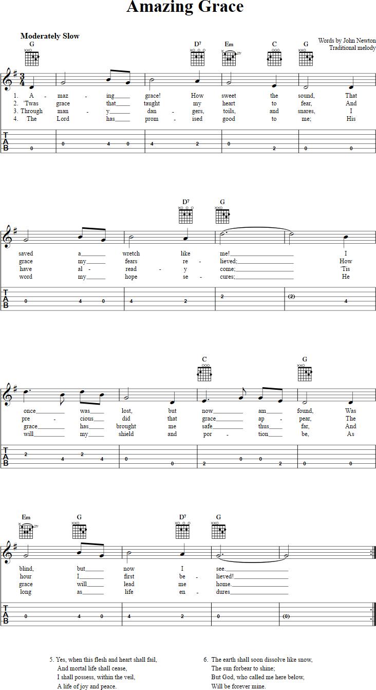 Amazing grace guitalele tab ukulele pinterest guitars songs 25 best ideas about amazing grace guitar chords on hexwebz Image collections