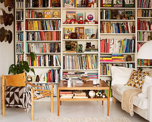 Wall Of Bookshelves livingroom. | b i b l i o t e c a | pinterest | designs., ikea